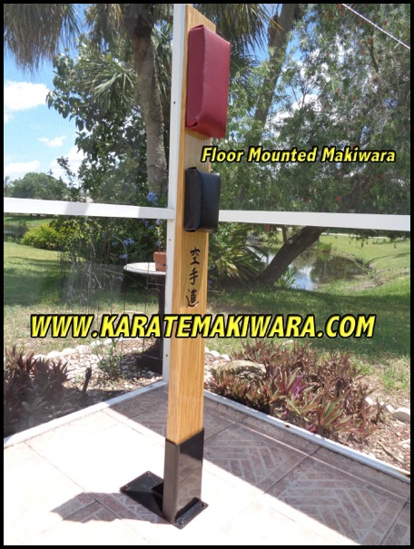 Floor Mounted Makiwara 5F