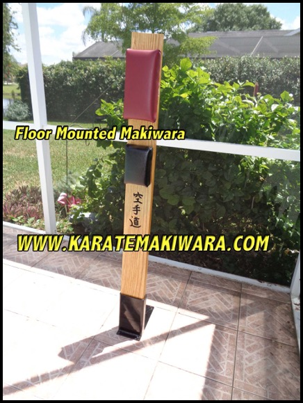 Floor Mounted Makiwara FM